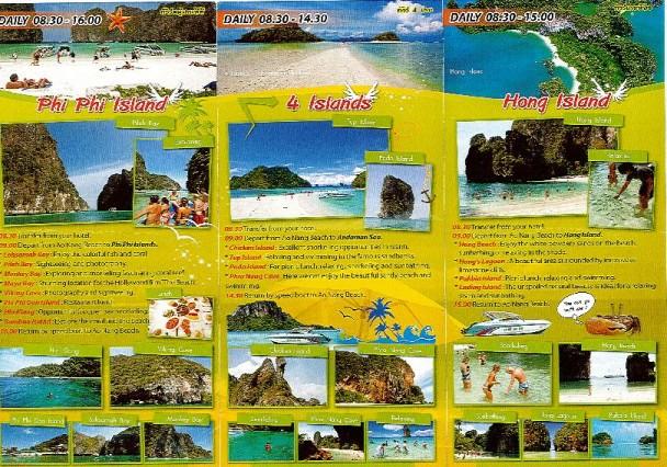 folleto playas