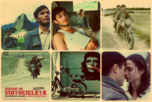 collage diarios de motocicleta