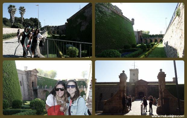 collage castillo montijuic