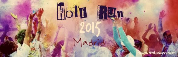 Holi Run Marid 2015