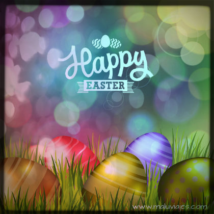 happy easter 2015 poster-f61013