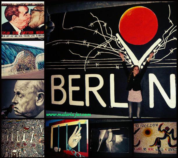 Graffitis Muro de Berlín