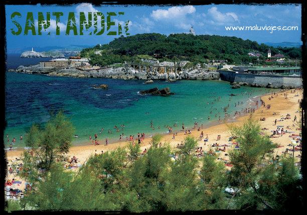 maluviajes-Santander-España-Playa-viajes