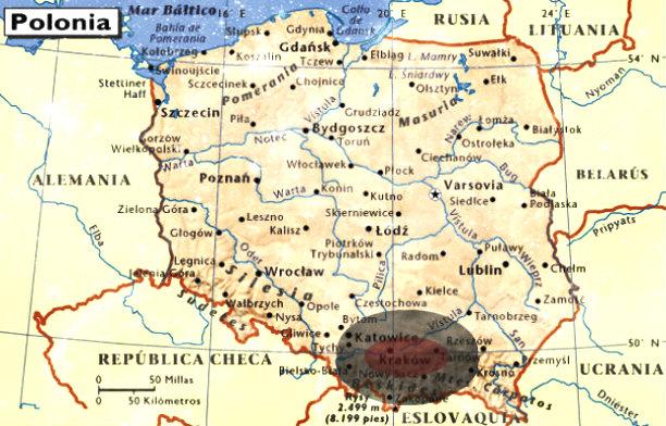 maluviajes-mapa-Polonia-Cracovia