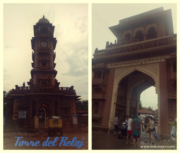 maluviajes-India-Jodhpur-Torre-Reloj